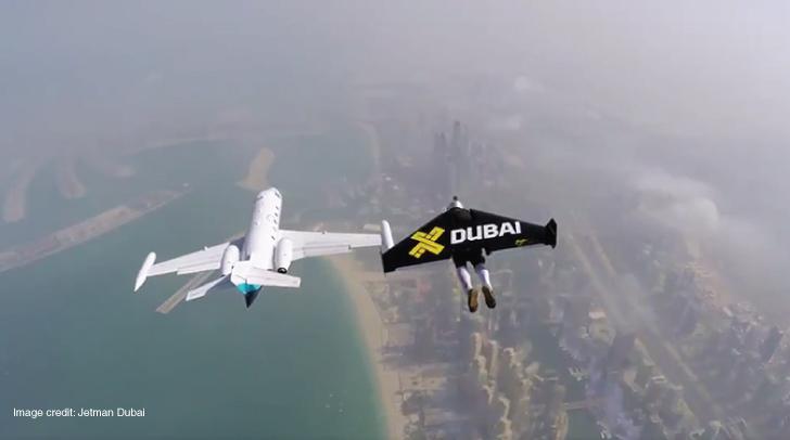 Updates Gt Video Daredevils Chase Private Jet In Dubai  Connector Dubai