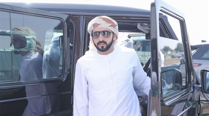 Sheikh Hamdan Attends Camel Race Festival - Connector Dubai