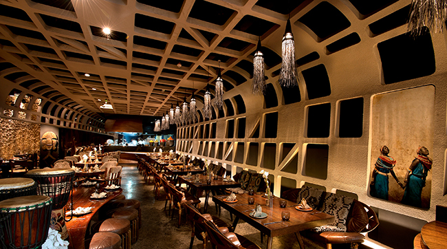 Competition win with tribes restaurant connector dubai
